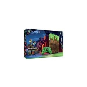 Spielkonsolen - Microsoft Xbox One S Minecraft Limited Edition Bundle Spielkonsole 4K HDR 1 TB HDD  - Onlineshop JACOB Elektronik