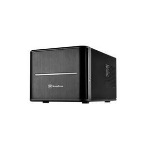 Computergehäuse - SilverStone Case Storage CS280 Desktop Slimline Mini ITX ohne Netzteil USB Audio (SST CS280)  - Onlineshop JACOB Elektronik