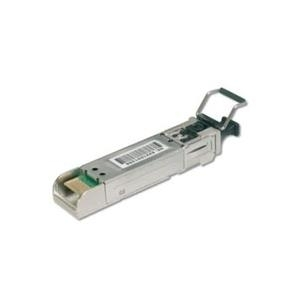 DIGITUS Professional DN-81000-01 - SFP (Mini-GBIC)-Transceiver-Modul - Gigabit Ethernet - 1000Base-SX - LC Multi-Mode - bis zu 550 m - 850 nm