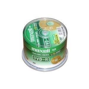Maxell - 50 x DVD-R - 4,7GB 8x (275610)