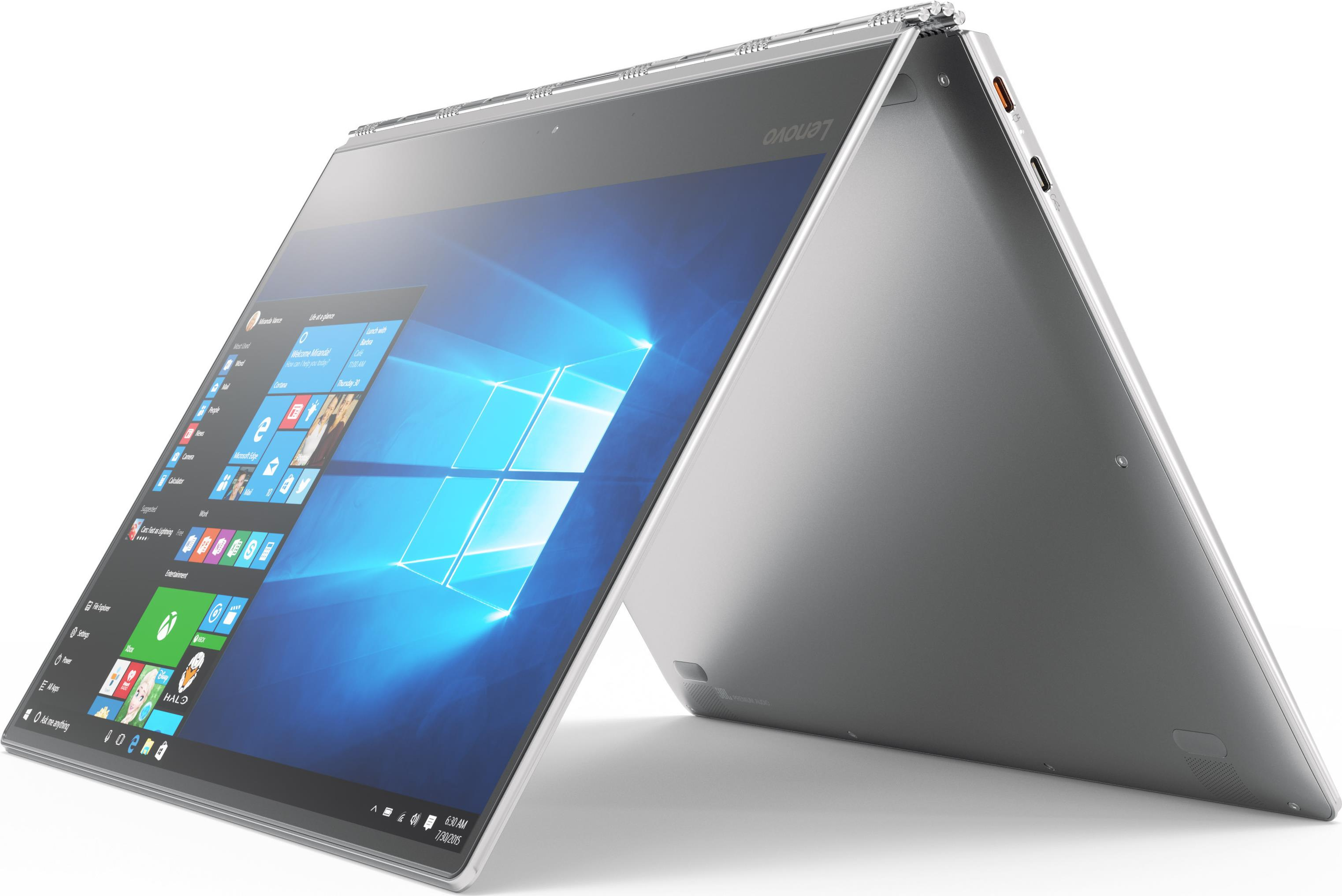 Lenovo Yoga 920 13IKB 80Y7 Flip Design Core i7 8550U 1 8 GHz Win 10 Home 64 Bit 8 GB RAM