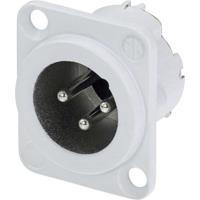 Neutrik XLR-Steckverbinder Flanschstecker, Kontakte gerade Polzahl: 3 Weiß NC3MD-LX-WT 1St. jetztbilligerkaufen