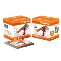 xlyne CD-R 700MB 10 Pack - CD-R - 700 MB - 52x ...