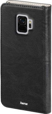Taschen, Hüllen - Hama Guard Case Flip Hülle für Mobiltelefon Kunstleder Schwarz für Samsung Galaxy S9  - Onlineshop JACOB Elektronik