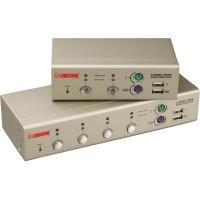 Longshine LCS-K702 - KVM-Switch - PS/2, USB - 2 x KVM port(s) - 1 lokaler Benutzer - Desktop (LCS-K702)