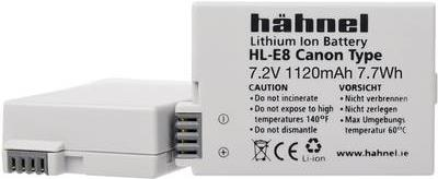 Hähnel HL-E8 - Batterie - Li-Ion - 1120 mAh - für Canon EOS 600, 650, 700, Kiss X4, Kiss X5, Kiss X7i, Rebel T3i, Rebel T4i, Rebel T5i
