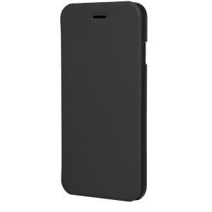 XQISIT Folio Case Rana - Flip-Hülle für Mobiltelefon - Schwarz metallic - für Apple iPhone 6 (18086)