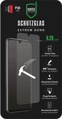 Image of Scutes Deluxe Schutzglas 0,20 P30 lite Displayschutzglas Passend für: Huawei P30 Lite 1 St- (96686)