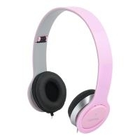 LogiLink Stereo High Quality Kopfhoerer, pink (HS0032)