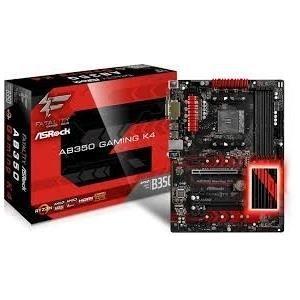ASRock Fatal1ty AB350 Gaming K4 Mainboard - Sockel AM4 - ATX - HDMI, DVI, VGA, DDR4 (90-MXB530-A0UAYZ)