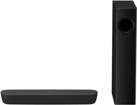 Heimkino Systeme - Panasonic SC HTB254 Soundleistensystem für Heimkino 2.1 Kanal kabellos Bluetooth 120 Watt (Gesamt) (SC HTB254EGK)  - Onlineshop JACOB Elektronik