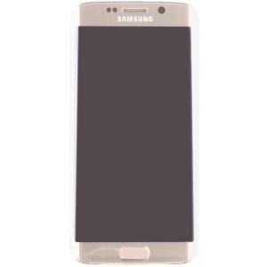 Samsung GH97-17162C Komplett-Displayeinheit für Galaxy S6 Edge SM-G925 gold (GH97-17162C)