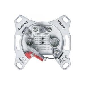 Axing BSD963-10 3-Port Multimedia-Dose CATV ,DA...
