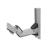 Ergotron StyleView Sit-Stand Combo Extender - Short Montagekomponente (Verlängerungsarm, Wandhalterung mit Führungsschiene, Armabdeckung) Polished Aluminum, hochwertiger Kunststoff Silber (97-858-026) jetztbilligerkaufen