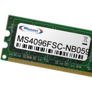 MemorySolution - DDR2 4 GB SO DIMM 200-PIN 800 MHz / PC2-6400 ungepuffert nicht-ECC für Fujitsu AMILO Pi 3625, 3625-002, 3625-004, 3625-010, 3625-H03, 3625-P5810 (MS4096FSC-NB059) - broschei