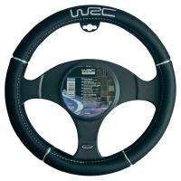 UNITEC WRC Lenkradhülle Schwarz Schwarz (73248)