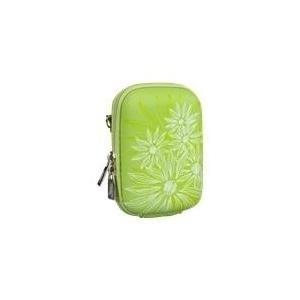 Riva Case 7023 (PU) - Hartschalentasche Kamera EVA Green Flower (7023 GREEN FLOWERS) - broschei