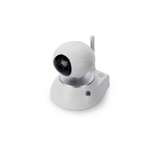 ednet.smart home HD 720p Wireless LAN Innenkamera - Netzwerk-Überwachungskamera - schwenken / neigen - Farbe (Tag&Nacht) - 1 MP - 720p - drahtlos - Wi-Fi (84301)