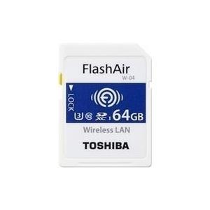 Toshiba FlashAir W-04 - Wireless-Speicherkarte ...