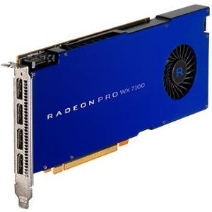 AMD Radeon Pro WX7100 - Grafikkarten - Radeon Pro WX 7100 - 8 GB GDDR5 - PCIe 3.0 x16 - 4 x DisplayPort (100-505826)