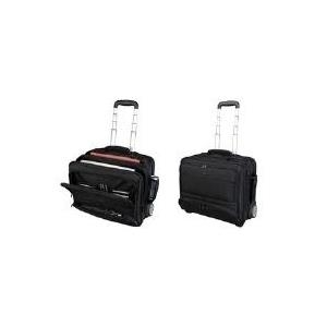 Computertaschen - LiGHTPAK Business Notebook Trolley 'SKY', Nylon, schwarz arretierbares Teleskoptrolleysystem, Hauptfach mit (46115)  - Onlineshop JACOB Elektronik