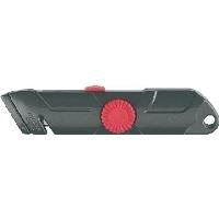 Ecobra Sicherheits-Cutter/770550 L158xB38 mm schwarz/rot - broschei