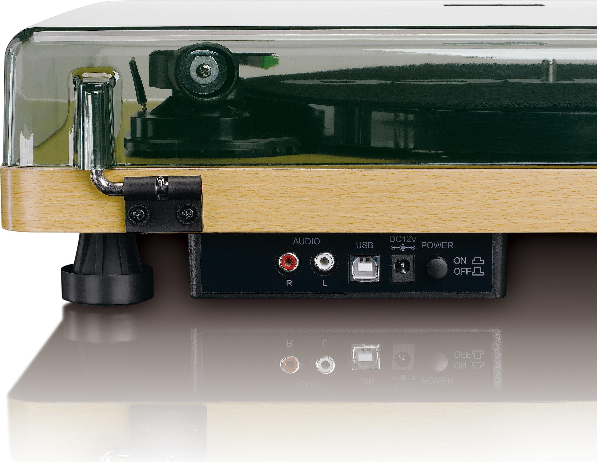 Plattenspieler, Turntables - Lenco L 30 WOOD Belt drive audio turntable Plattenspieler (L 30W)  - Onlineshop JACOB Elektronik