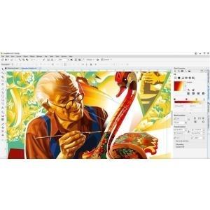 CorelDRAW Graphics Suite 2017 - Lizenz - 1 Benu...