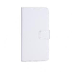 xqisit Slim Wallet Case - Flip-Hülle für Mobiltelefon - Kunstleder, Polycarbonat - weiß - für Apple iPhone 6 (18077)