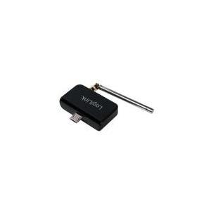 TV, SAT Receiver - LogiLink DVB T2 Mini Receiver für Android schwarz Schnittstelle USB 2.0 unterstützt DVB T, DVB T2 und HD 1 Stück (VG0026)  - Onlineshop JACOB Elektronik