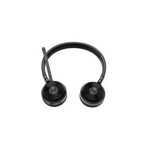 Audiozubehör - HP UC Wireless Duo Headset Full Size Bluetooth drahtlos NFC für Elite x2 1012 G2, x3, EliteBook, Pro x2 612 G2, ProBook  - Onlineshop JACOB Elektronik