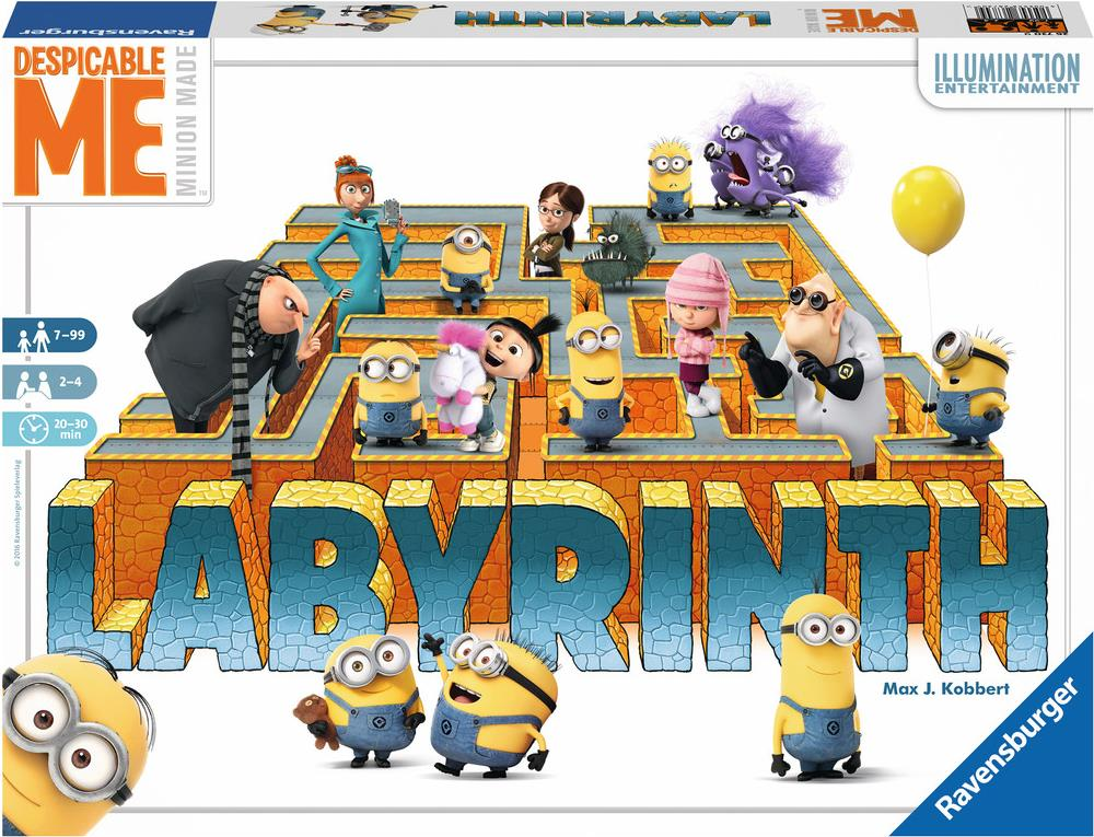Ravensburger Despicable Me Labyrinth - Rennen-B...