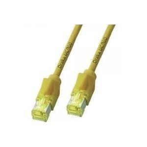 DRAKA Patchkabel Cat6a S/Ftp Gelb 5m - broschei