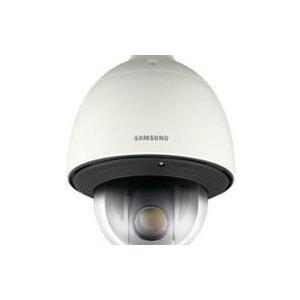 Hanwha Techwin Samsung WiseNet III plus SNP-5430H - Netzwerk-Überwachungskamera - PTZ - Außenbereich - vandalismusresistent/wasserfest - Farbe (Tag&Nacht) - 1,5 MP - 1280 x 1024 - 720p - Automatische Irisblende - motorbetrieben - Audio - Composite -