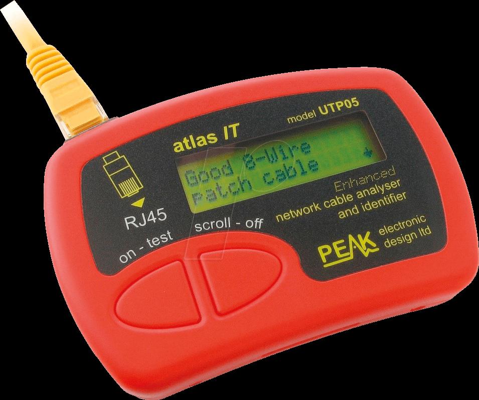 ATLAS IT KIT - Netzwerktester IT für Patchkabel (UTP05E)