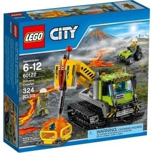 LEGO City Vulkan-Raupe - Junge - Mehrfarben - 1...