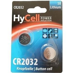 2er Blister Ansmann HyCell Knopfzelle 3V Lithium CR 2032 (5020202) (5020202)