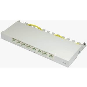 Alcasa GC-N0081 - Cat6a 10 Gigabit Ethernet Schnelles RJ45 U/FTP (STP) Grau (GC-N0081) - broschei