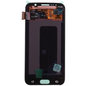Samsung GH97-17260B Komplett-Displayeinheit für Galaxy S6 SM-G920 weiss (GH97-17260B)