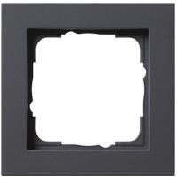 GIRA 1fach Rahmen E2, Standard 55, System 55 Anthrazit 0211 23 jetztbilligerkaufen