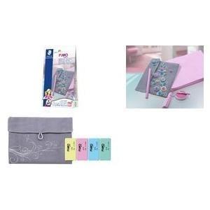 "FIMO SOFT DIY Modelliermasse-Set ""Bag"", inkl. Tasche sofort modellierfähig, ofenhärtend, Farben Modelliermasse: - 1 Stück (8025 09)"