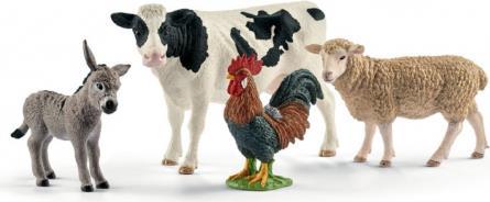 Schleich Farm World Starter-Set, Farm Life. Empfohlenes Geschlecht: Junge/Mädchen, Produktfarbe: Mehrfarben, Genre: Tiere. Menge pro Packung: 1 Stück(e), Anzahl Teile: 4 Stück(e) (42385)