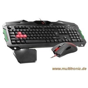 A4Tech Bloody Q2100 USB Deutsch Schwarz Tastatur (A4TKLA45502)