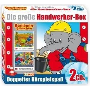 Kiddinx Benjamin Blümchen Handwerker Box (109+1...