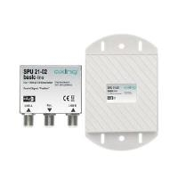 Axing SPU 21-02 Cable combiner Grau - Silber (S...