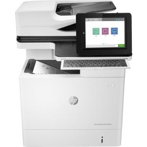Drucker, Scanner - HP LaserJet Enterprise Flow MFP M631h Multifunktionsdrucker s w Laser 216 x 863 mm (Original) A4 Legal (Medien) bis zu 52 Seiten Min. (Kopieren) bis zu 52 Seiten Min. (Drucken) 650 Blatt USB 2.0, Gigabit LAN, USB 2.0 Host  - Onlineshop JACOB Elektronik