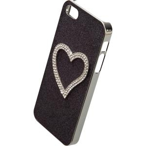 IPHORIA FUN Back Cover Diamond Heart für Apple iPhone 5/ 5S/ SE Black (14386) jetztbilligerkaufen