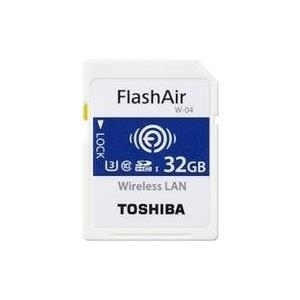 Toshiba FlashAir W-04 - Wireless-Speicherkarte ...