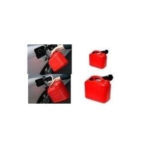 IWH Kraftstoffkanister, Kunststoff, 5 l mit Ausgießer, Reservekanister UN-Zulassung, für alle - 1 Stück (087257) jetztbilligerkaufen