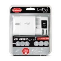 Hähnel UniPal Plus - Batterieladegerät + AC-Netzteil + Kfz-Netzteil (USB) - Großbritannien und Nordirland, Europa